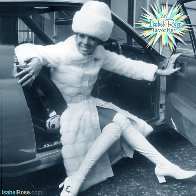 Shirley-Bassey-White-Fur-Gogo-Boots