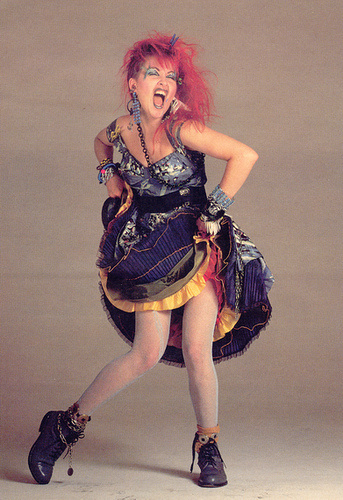 Female singers from the 80s