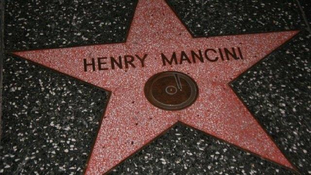 henry mancini hollywood star