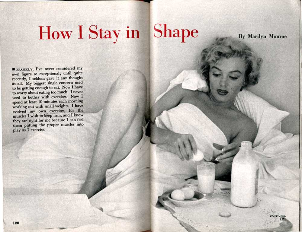 Pageant Magazine Marilyn Monroe