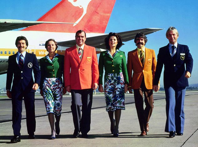 Quantas Airways, 1974-1985, Pucci uniforms