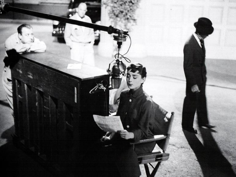 Audrey rehearsing la vie en rose