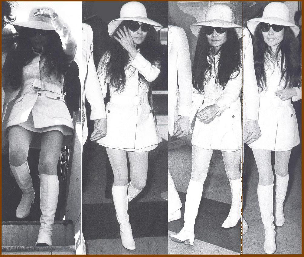 yoko 4x in white boots